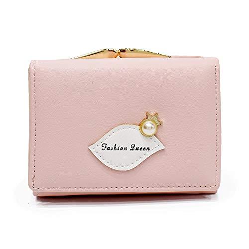 Volcom-print-shorts (Pearl Crown Print Wallet Short Geldbörse Damen Pink)