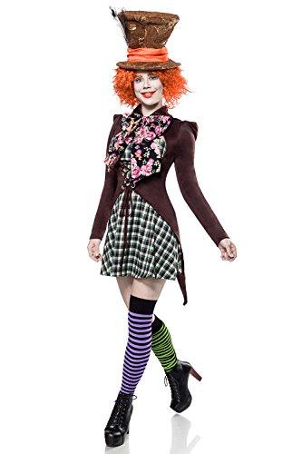 tter Girl - Hutmacher Girl (S) (Haloween Kostüme Frauen)