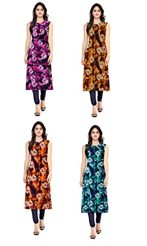 Belleza Summer Collection 4 piece of Combo of American Fancy Floral Printed...