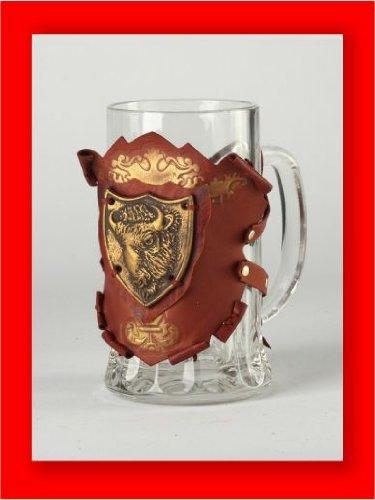 luxusolymp-bicchiere-da-birra-buffalo-in-contenitore-decorativo-copertina-in-pelle-realizzato-a-mano