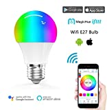 Magic Hue LED Mini WIFI RGBW Gegenwert 40W Lampe , dimmbar Energiesparlampen mit Amazon echo Alexa,...
