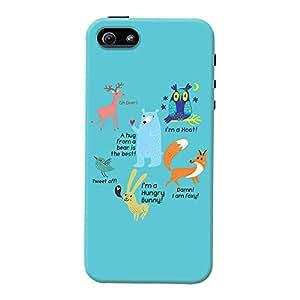 iphone 5/5s back case cover ,Animals Designer iphone 5/5s hard back case cover. Slim light weight polycarbonate case