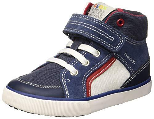 Geox Baby Jungen B Kilwi Boy C Sneaker, Blau (Navy/White C4211), 26 EU -