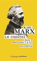 Le capital - Livre 1, sections 1 à 4 de Karl Marx