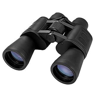 Binocular Ferngläser, Queta 10 x 50 Fernglas Leichtes Binocular Wasserdicht Feldstecher mit Trageriemen Taschenfernglas Für Weitsicht