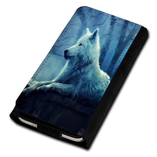 Book Style Flip Handy Tasche Case Schutz Hülle Foto Schale Motiv Etui für Archos 50C Platinum - Flip U3 Design1