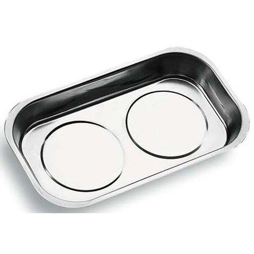 INOX Magnetschale/Werkzeugschalen Haftschale Magnetteller Magnettablett Magnethalter Magnetschüssel Größe L 240 140 mm
