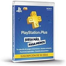PlayStation Plus - Tarjeta De Prepago Para 90 Días