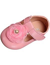 751602d1aea8a Xmiral Chaussure Enfant Filles Princesse Souliers élégante Fleur Seul  Nourrisson