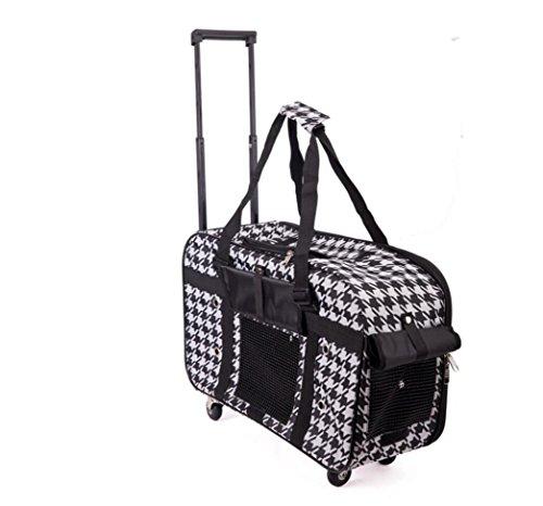 ZZHH Andare portatile pieghevole cane zaino gabbie gatto gatto borsa da viaggio . b b