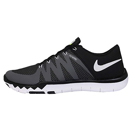 Nike Nike Free 5.0 Flash, Chaussures de running femme Black/Dark Grey/Volt/White
