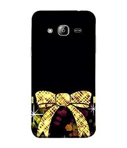 PrintVisa Designer Back Case Cover for Samsung Galaxy On5 (2015) :: Samsung Galaxy On 5 G500Fy (2015) (Knot Belt Girl Strip Gift Purple Dress Designer)