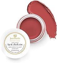 Just Herbs Vegan Lip and Cheek Tint -02 Peachy Coral (Creamy Matte)