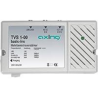 Axing TVS 1-00 amplificatore 30 dB per digitale terrestre antenna tv e radio (FM e DAB), 3 ingressi FM, VHF, UHF - Trova i prezzi più bassi su tvhomecinemaprezzi.eu