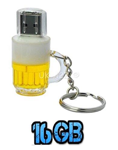 Uk a2z ® cartoon birra 16gb usb flash drive & # x2739; free p & p