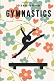 Gymnastics: 2019 Yearly Planner in Floral