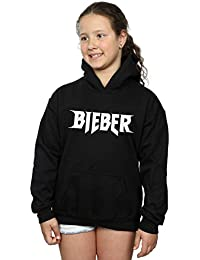 Justin Bieber Girls Simple Logo Hoodie