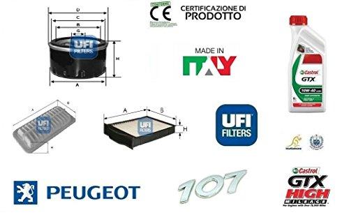 kit-filtri-tagliando-ufi-peugeot-107-10-50-kw-4-litri-olio-castrol-10w40