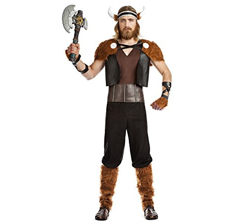 Imagen de disfraz de guerrero vikingo para hombre