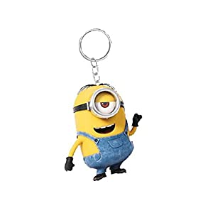 Genuine Despicable Me Minions 'Stuart' Banana Scented 3D Keyring Fob