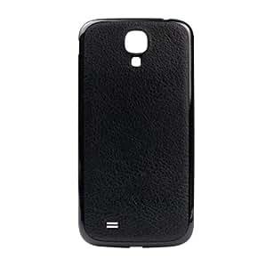 xubix Galaxy S4 Akkudeckel Leder Look Samsung i9500 - schwarz