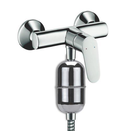 Filtre de douche BIOSKIN - Filtre de douche et bain KDF anti-chlore anti-calcaire avec cartouche longue durée 12 mois - ICEBERGPHARMA