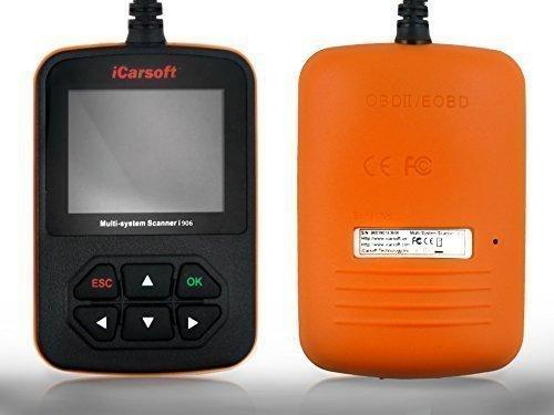 Scanner Volvo (iCarsoft i906 Profi Diagnosegerät für Volvo Zugriff auf alle Steuergeräte OBD Support und Updates kostenlos)