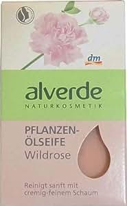 Alverde - Savon à l'huile végétale - Rose sauvage bio - 100 g