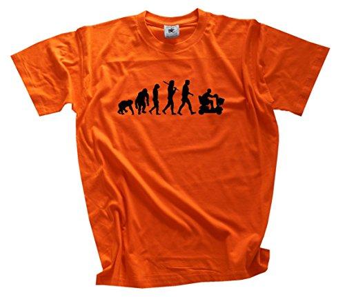 Standard Edition Rentner Senior Rollator Evolution T-Shirt orange XXL