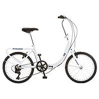 دراجة شوين لووب القابلة للطي للكبار، عجلات 50.8 سم، 7 سرعات, S2280BAZ , , 20-inch Wheels, , ابيض,, 1