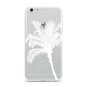 Coque en TPU pour iPhone 6–California palmier clair (2)