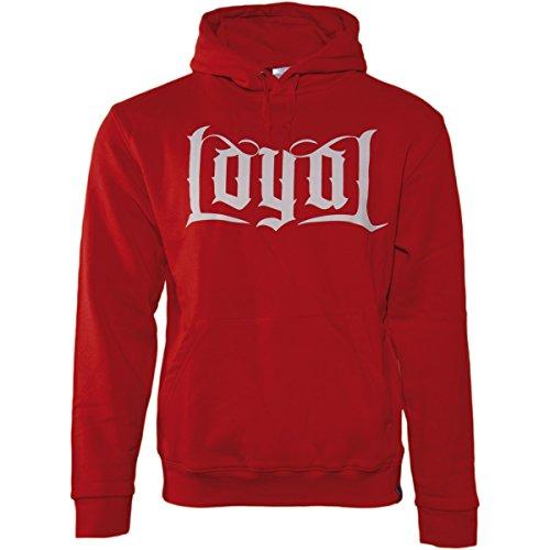 Herrenmode Loyal Rot T-shirt Hochwertige Materialien Kontra K
