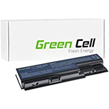 Green Cell® Standard Serie Batería para Acer Aspire 6530 6530G 6920 6930 6930G 6935 7220 7520 7535 7535G 7738 7738G 7540 7540G 7720 7730 7740 7740G Ordenador (6 Celdas 4400mAh 10.8V Negro)