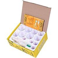 BG-YUFI YF Schröpfen Glas, 24 Dosen große Dicke Magnetfeldtherapie Schröpfen Gerät Entfeuchtung Entgiftung Gesetzt - preisvergleich bei billige-tabletten.eu