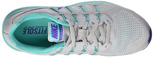Nike Wmns Air Max Dynasty, Entraînement de course femme Multicolore - Multicolore (Wolf Grey/Fierce Purple-Clear Jade)