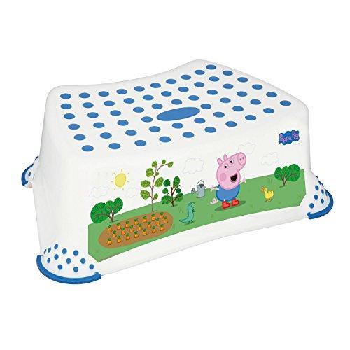 Solutions EU 49563 - Taburete antideslizante para inodoro, diseño de Peppa Pig con imagen de George