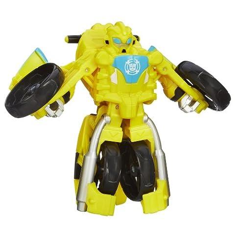 Playskool Heroes, Transformers Rescue Bots, Bumblebee Figure (Moto)