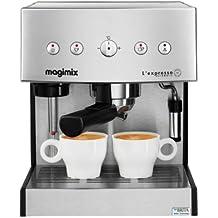 Magimix Expresso Automatic, Goteo, Cromo, 250 mm, 240 mm, 300 mm, 250 x 240 x 300 mm
