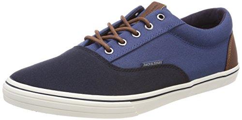 JACK & JONES Herren Jfwvision Block Navy Blazer Sneaker, Blau (Navy Blazer), 40 EU