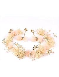 Olici MDRW-Tocado Nupcial De La Horquilla del Salón De Bodas Sen Bridal  Headwear Adornos 1b2d2a353739