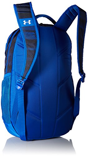 Under Armour UA Hustle 3.0 - Mochila, diseño camuflaje - 1294720, Talla única, Azul ultra/negro