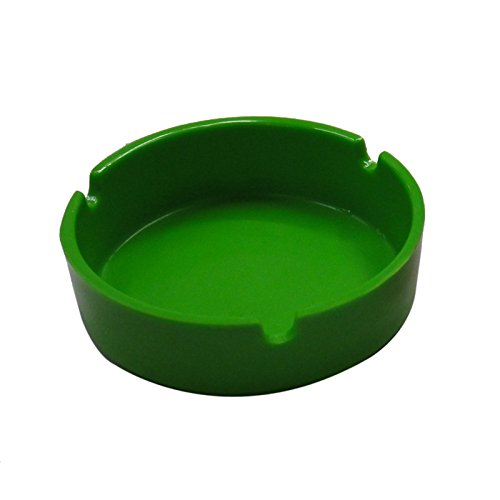 rff-family-practical-round-ashtray-melamine-resin-bars-ktv-green-meixi