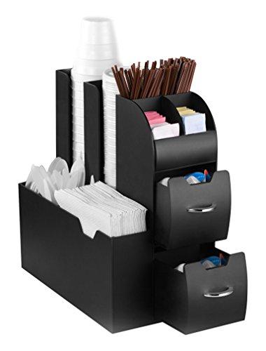 Cep 937079 scaffale, 2 cassetti, nero, 0 cm