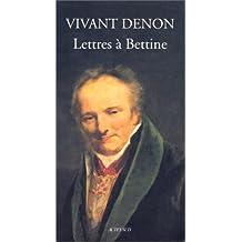 Lettres à Bettine