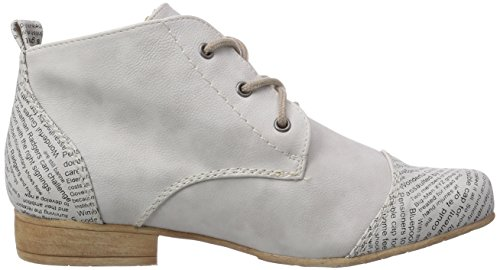 Rieker 47042, Bottes Desert courtes, doublure froide femme Blanc - Weiß (ice / 81)