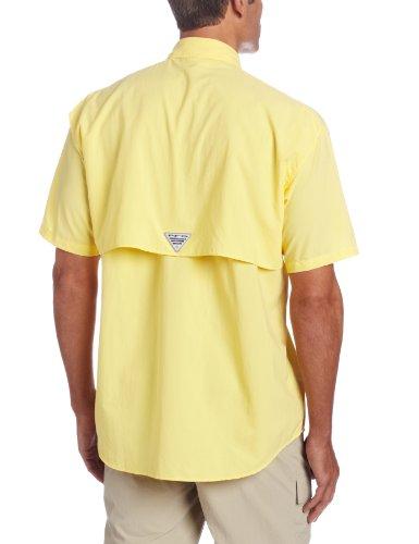 Columbia Herren Freizeit-Hemd Gelb - Sunlit