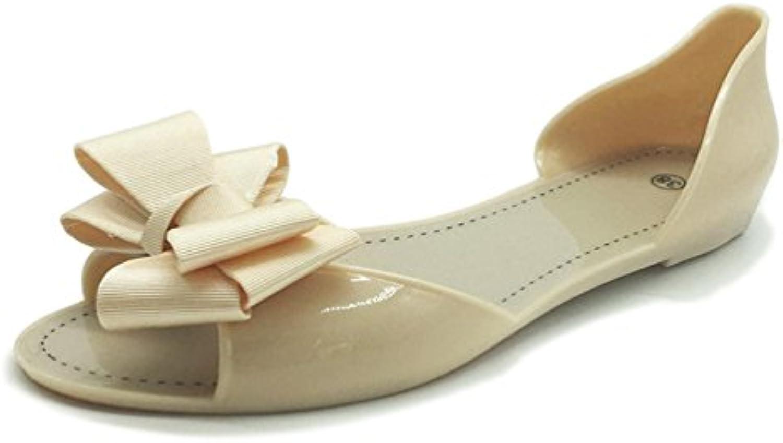 Femmes Flat  s De Plage Chaussures D'éTé Femmes Bowtie Outdoor Pantoufles Slip sur Sandalias Femmes D'éTé ChaussuresB07FN2N5NZParent 91cd61