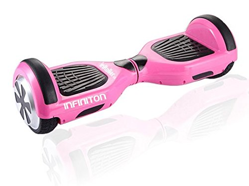 "Infiniton InRoller 2.0 Patinete Eléctrico Hoverboard 6"" - Rosa"