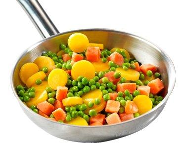 Mélange 3 couleurs : pois, carottes, patate douce - 600 g - Surgelé