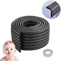 Baby Safety Bumper Guard Children Protection Table Desk Edge Corner Guard Strip Furniture Rubber Foam Bumper Collision 6.56ft